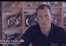 Will Butler Adams CEO of Brompton