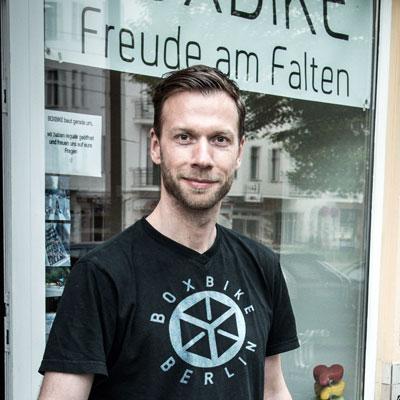 Patrick Möller • BOXBIKE • Berlin