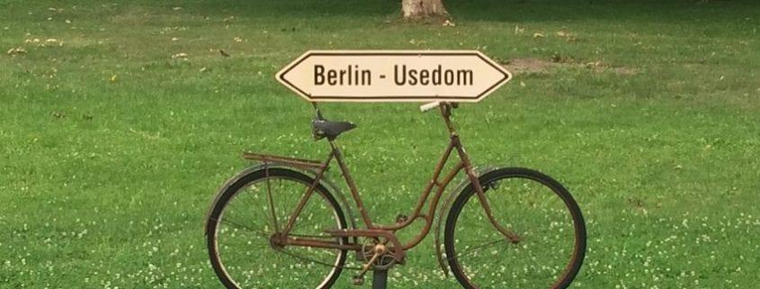 Mit dem Birdy auf dem Usedomradweg