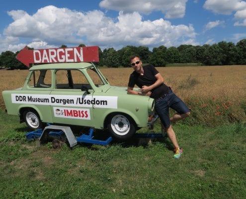 Mit dem Birdy auf dem Usedomradweg - DDR Museum Dargen