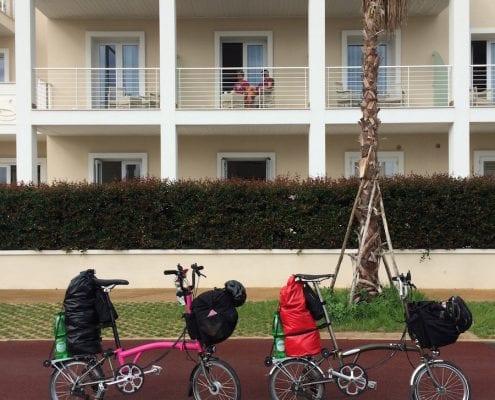 Brompton Tour Italien - Cagliari Sardinien