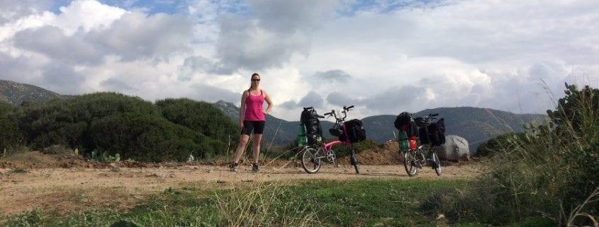 Brompton Tour Sardinien - BOXBIKE mIt dem Faltrad auf Reisen
