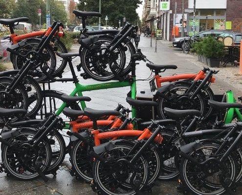 Brompton Black Edition 2017 - Jetzt erhältlich im BOXBIKE Faltrad Shop Berlin!