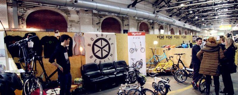Boxbike auf der Fahrradschau 2016 mit Tyrell Bikes