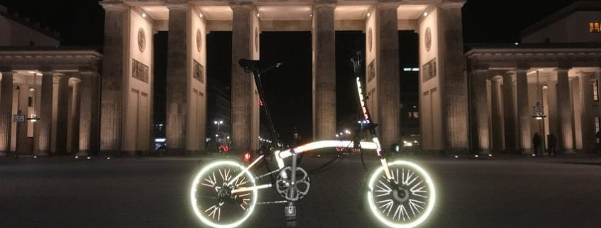Boxbike X Happareal Custom Made Reflective Brompton