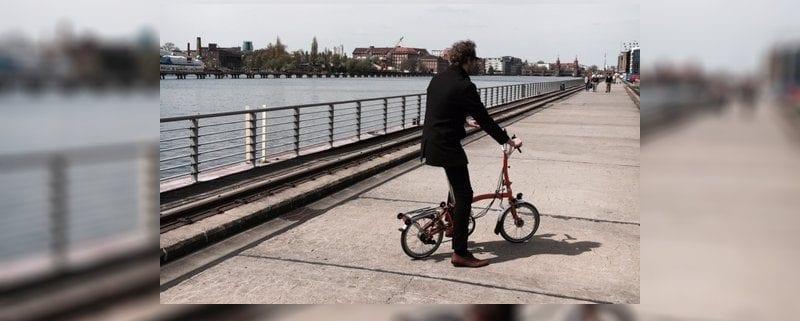 Testride olympiasieger tim wiesk tter testet ein brompton for Innendesigner berlin