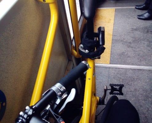 Tyrell FX Testride in der Berliner U-Bahn