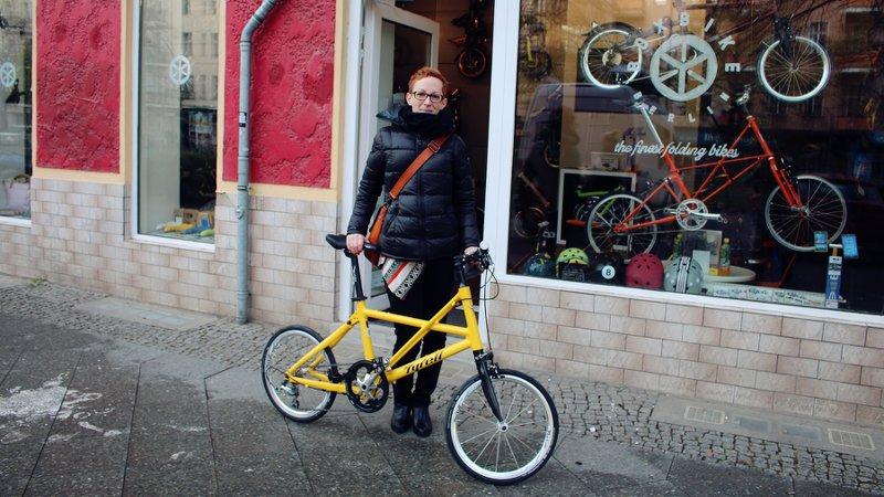 Boxbike testride tina von den velonistas auf dem tyrell fx for Innendesigner berlin