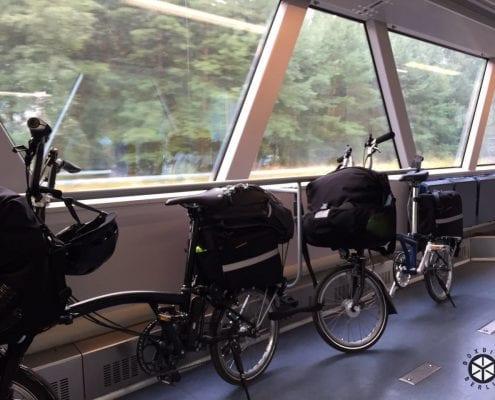 Brompton Faltrad Tour Berlin - Bremen